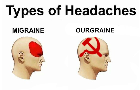 Types of headaches - meme
