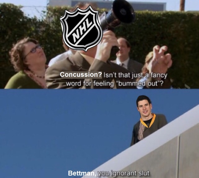 a meme for all my fellow hockey and The Office fans