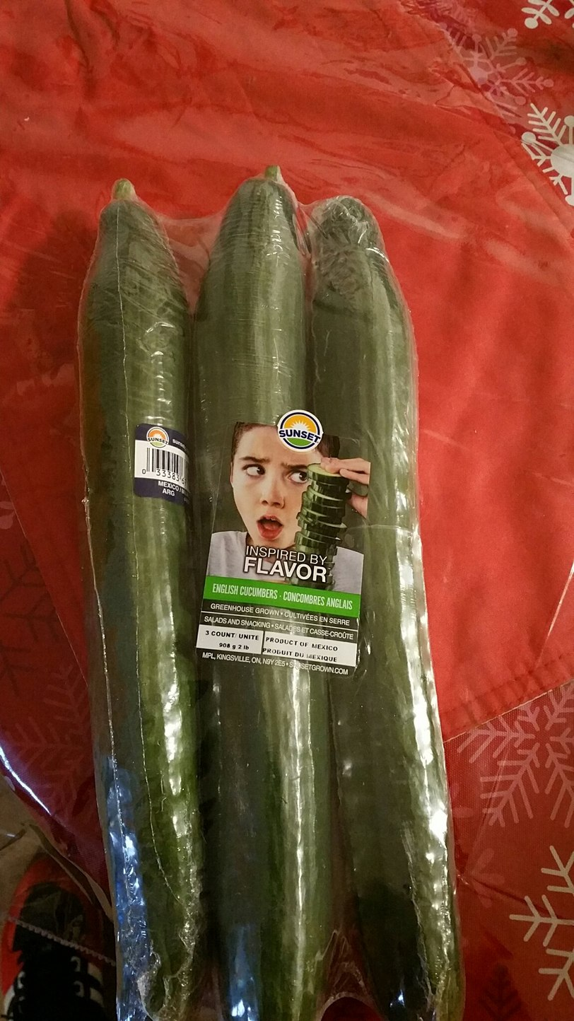 That's one way to sell cucumbers - meme