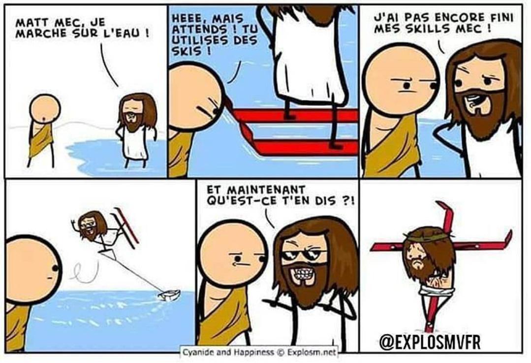 Crucifix - meme