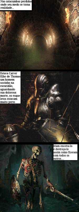 As Crônicas de Carver parte 1 - meme