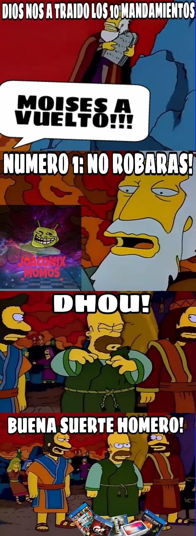 Moises ha vuelto - meme