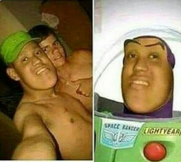 I am buzz lightyear! - meme