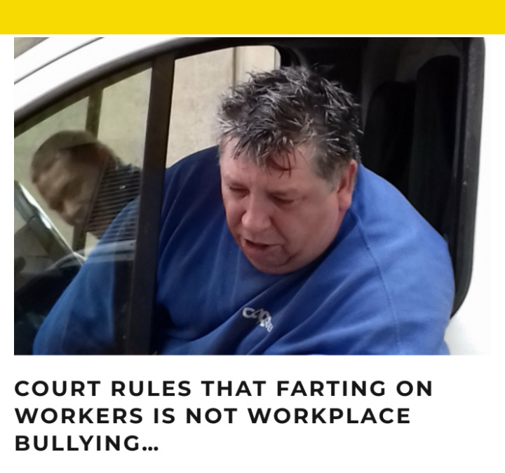 Farting is not assault people according to this law anyway - meme