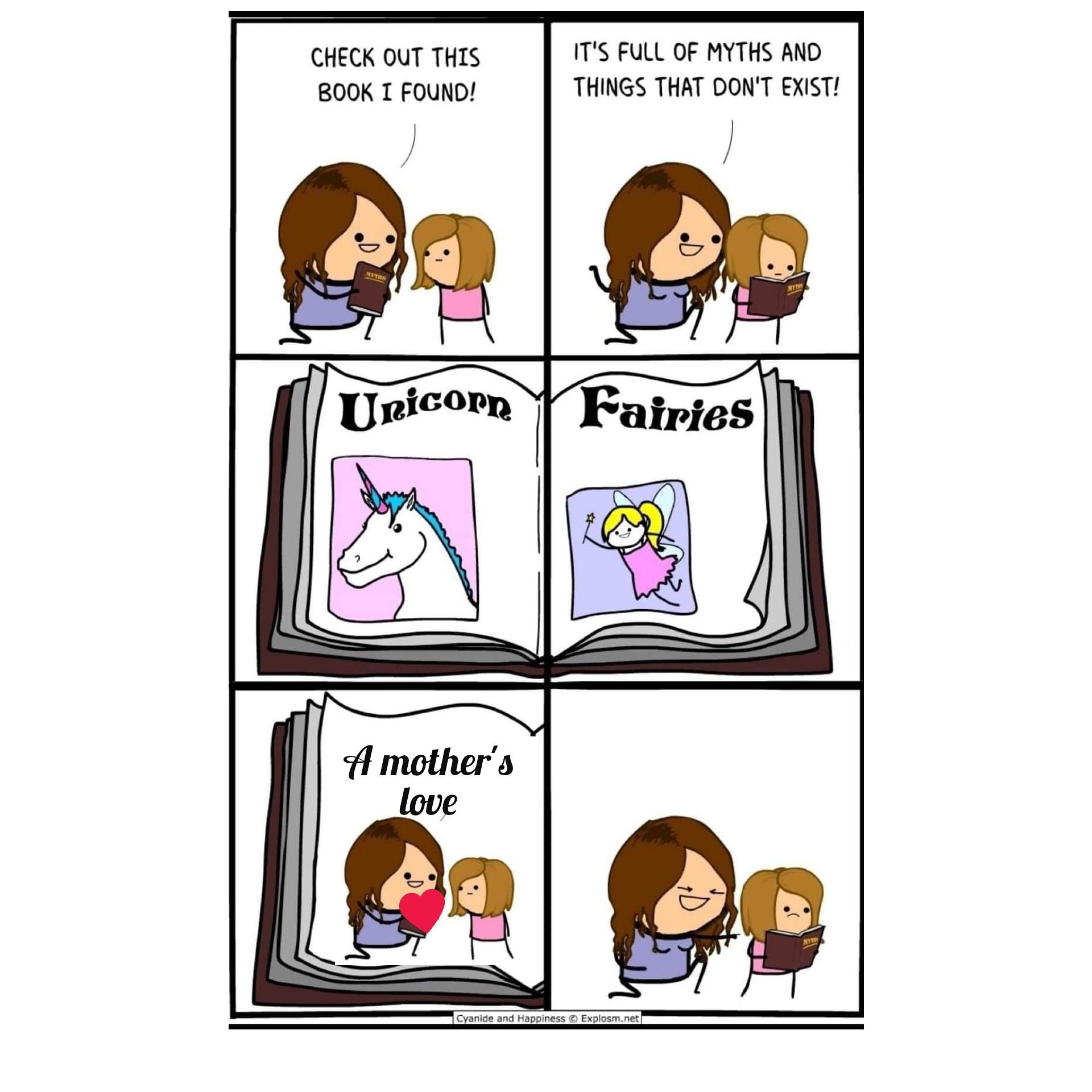 Mythical Things - meme