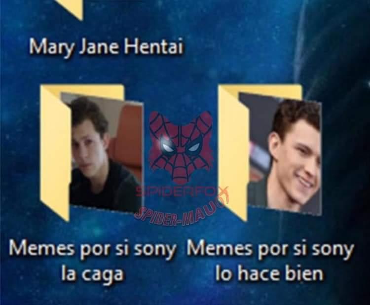 Creditos al universo aracnido :) - meme