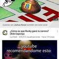 Porque youtube recomienda weas tan raras