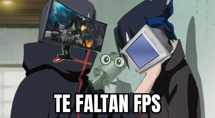 Te faltan fps - meme