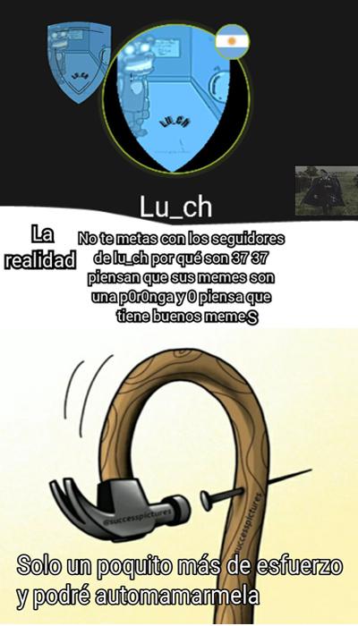 lu_ch se quiere mucho :D - meme
