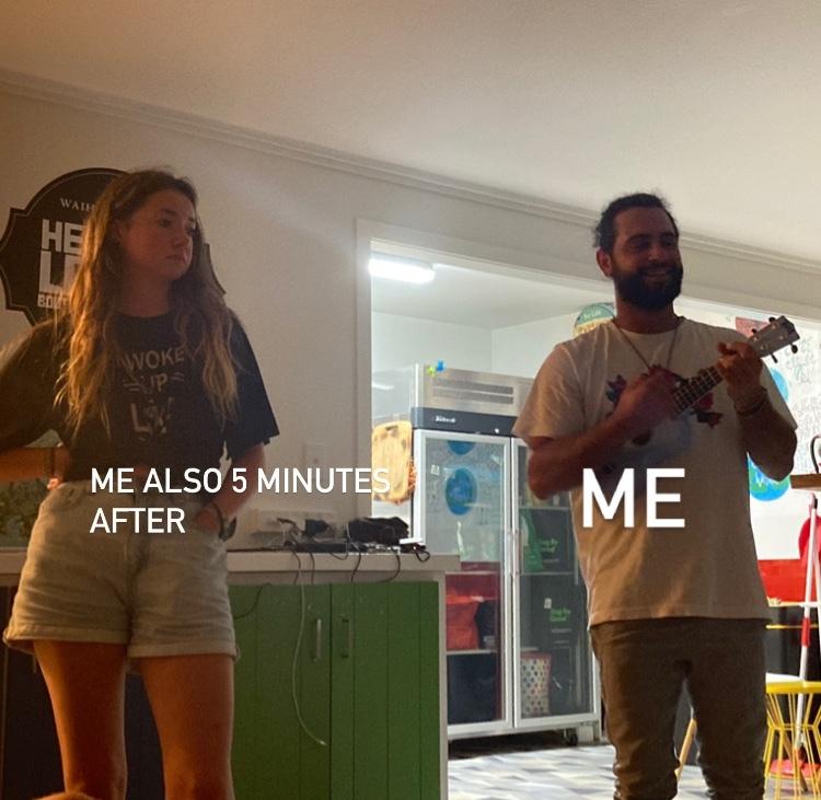 (my crush on the left) - meme