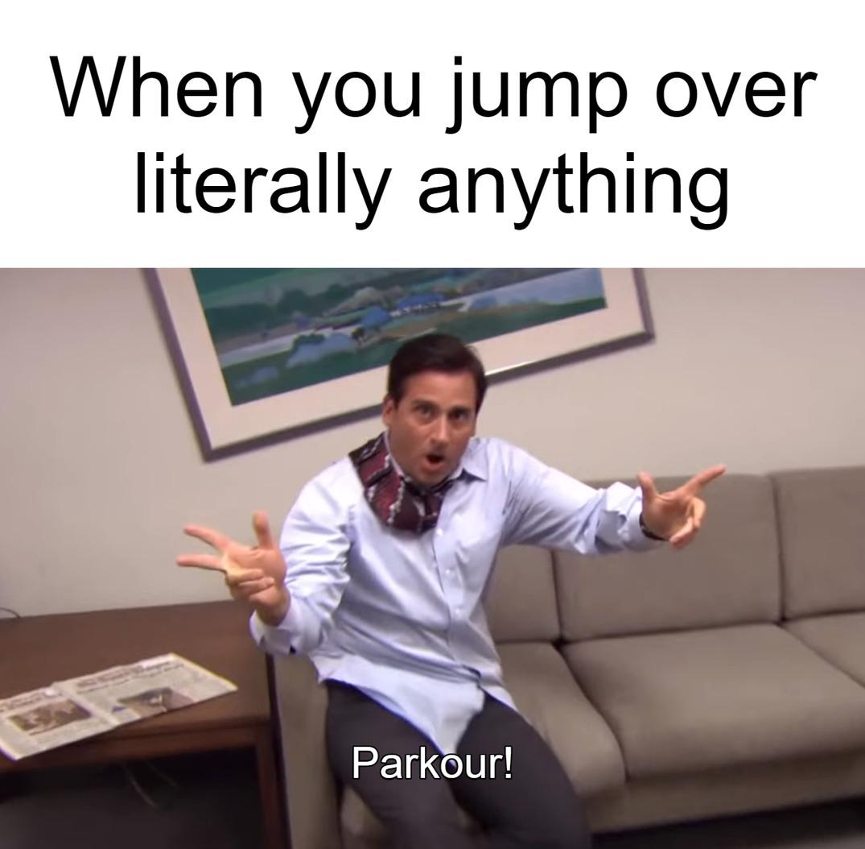 Parkoir - meme