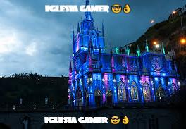 iglesia gamer  - meme