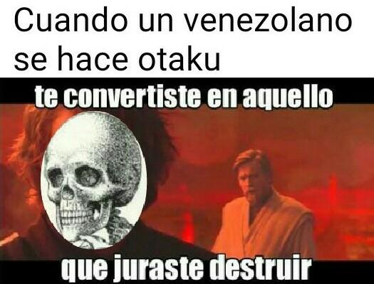 El antiotaku :0 - meme