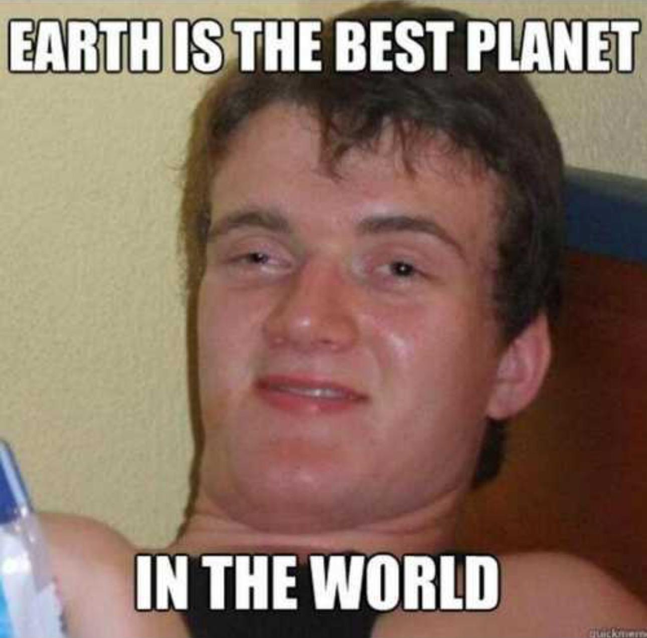 In the world - meme