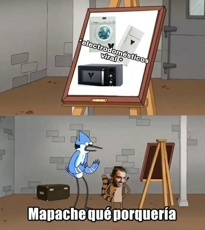 Electrodomésticos viral - meme