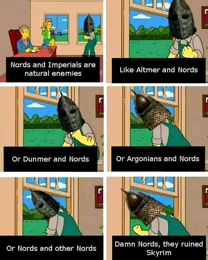 malditos nords! - meme