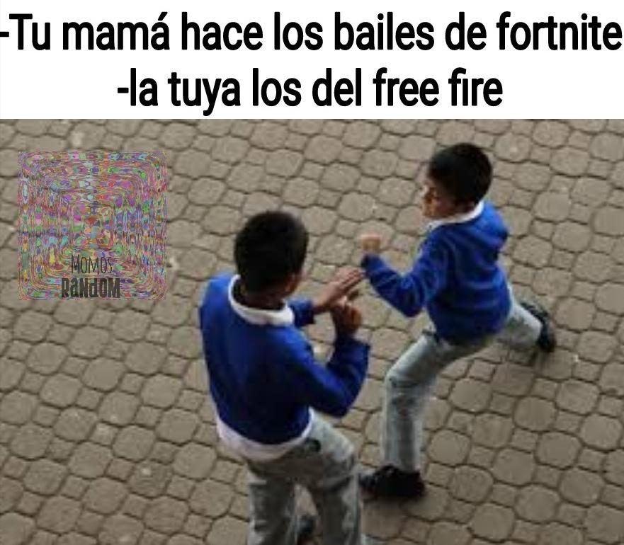Tu mamá baila el fri fair - meme