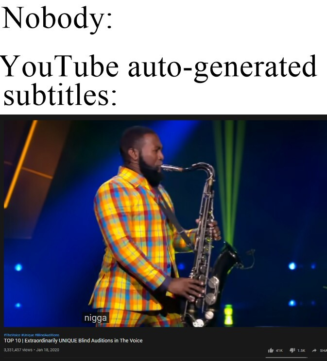 Youtube recist - meme