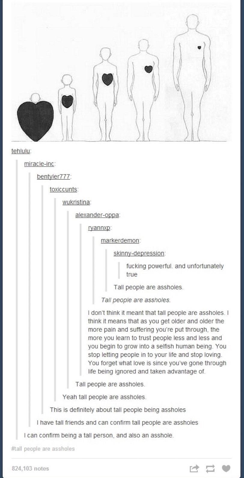 tall people - meme