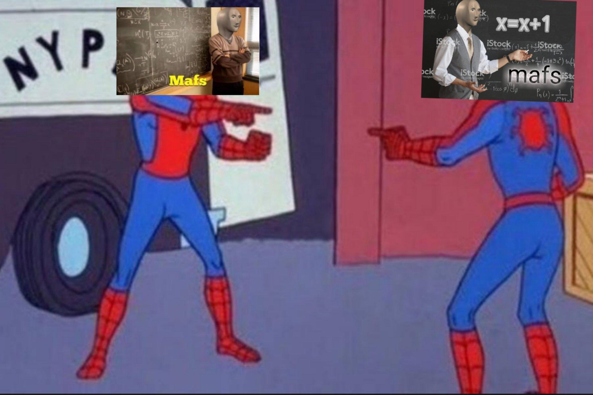 Mafs - meme