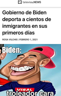 troleo Biden - meme