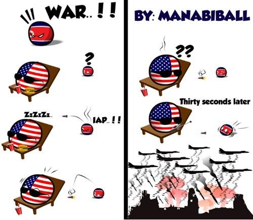 y asi acabara la WW3 - meme
