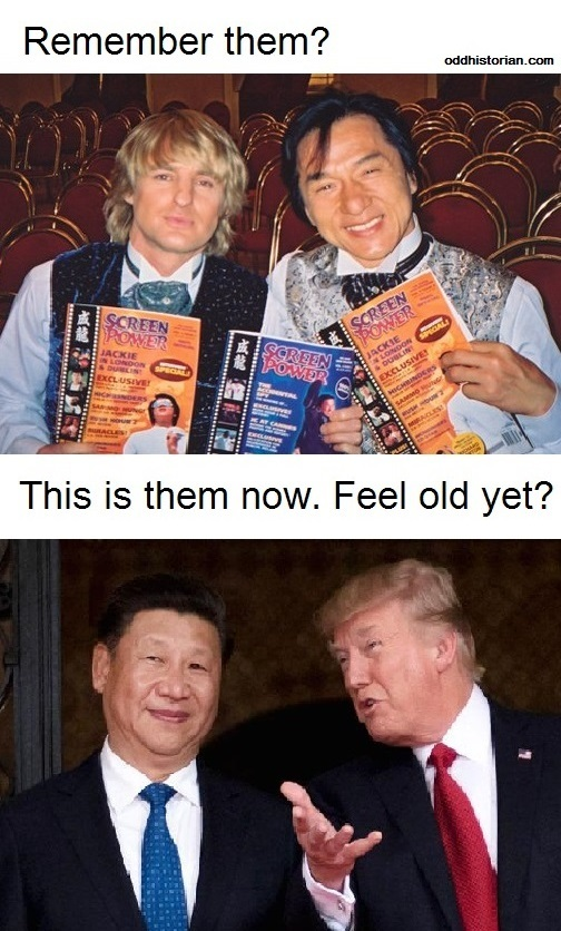 Boy, I sure feel old - meme