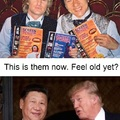 Boy, I sure feel old