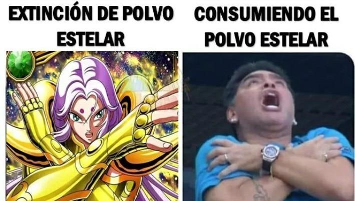 Ste Maradona - meme