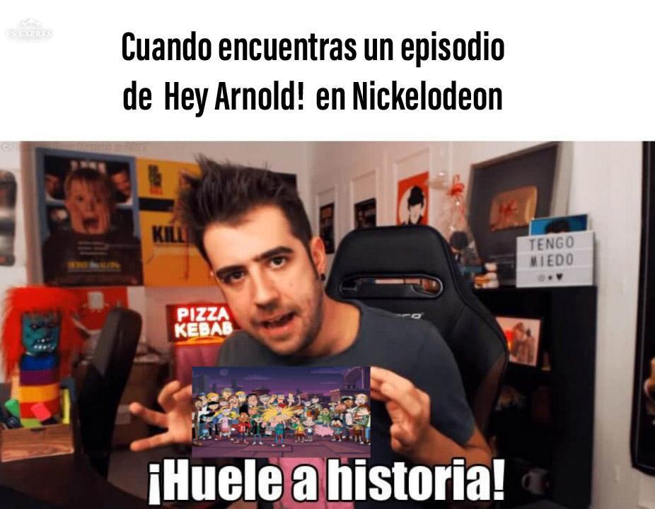 Huele a historia - meme