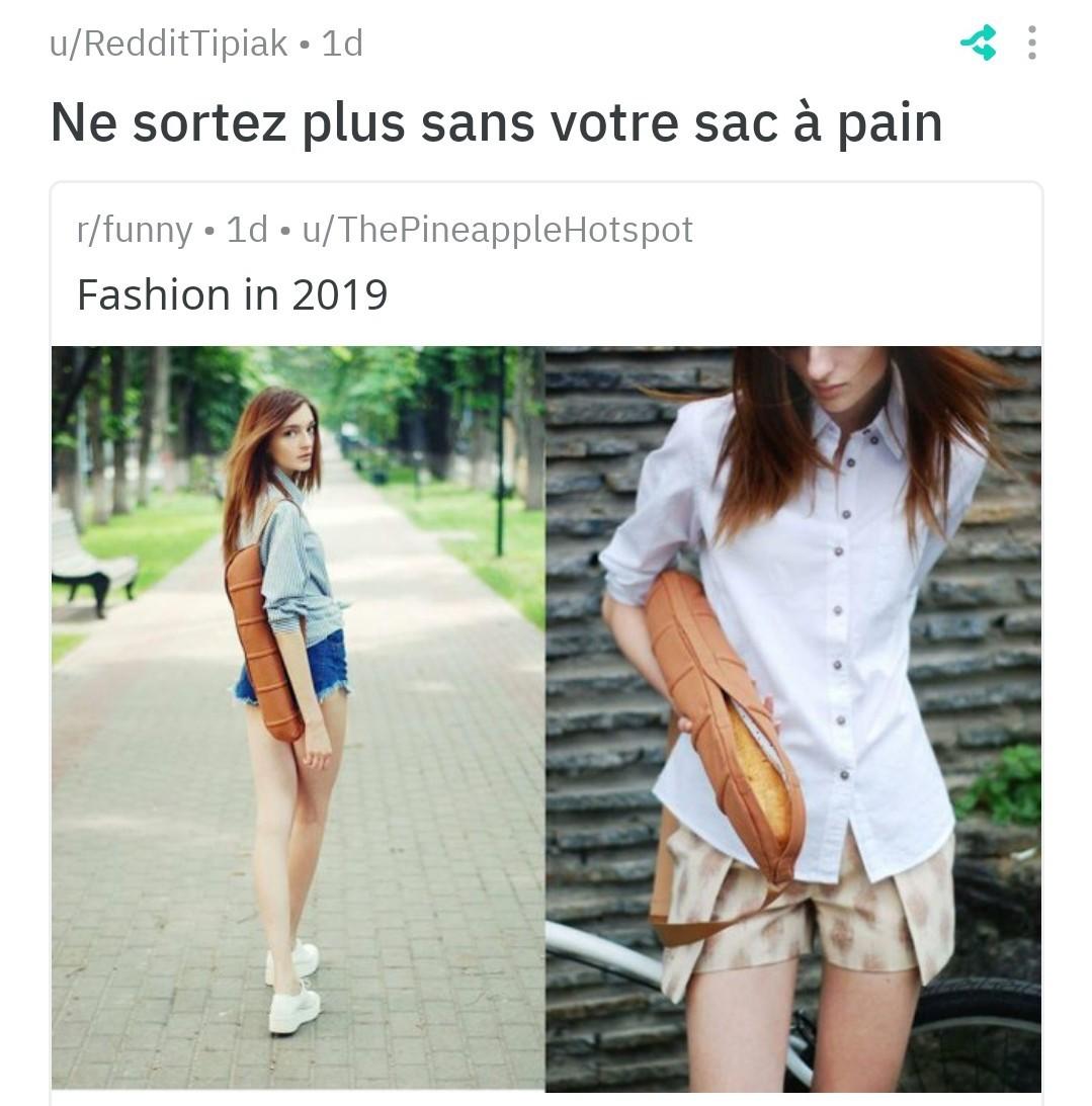 La mode tendance - meme