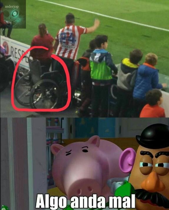 se ha levantado de su silla para discapacitados??? - meme