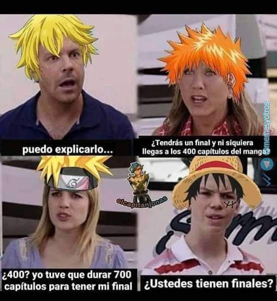 One Piece tiende a infinito - meme