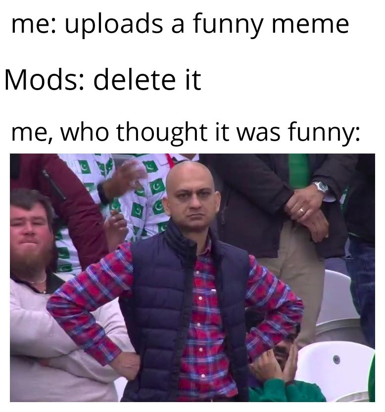 Mods who delete my memes have gae