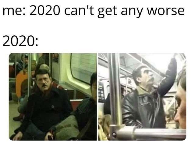 2020 - meme