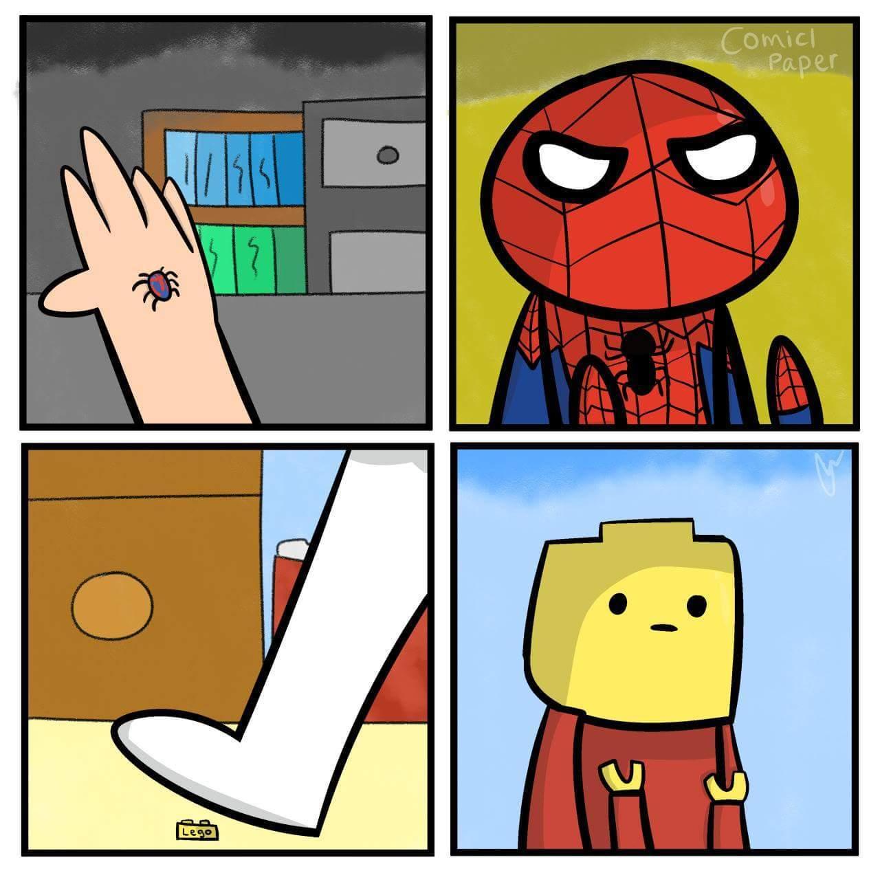 Legoman ¯\_(ツ)_/¯ - meme