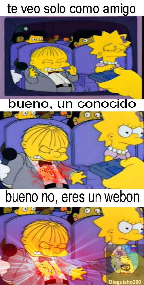 pobre webon (soy yo) - meme