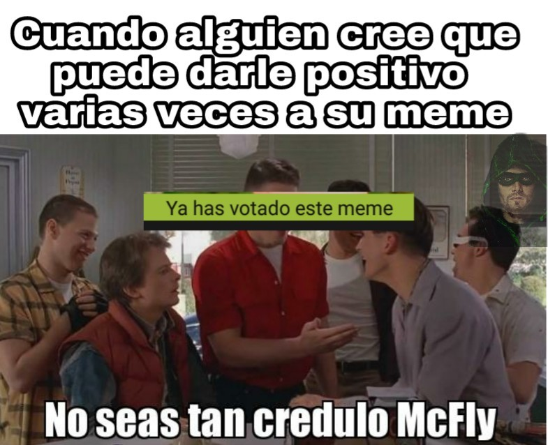 Este McFly... - meme