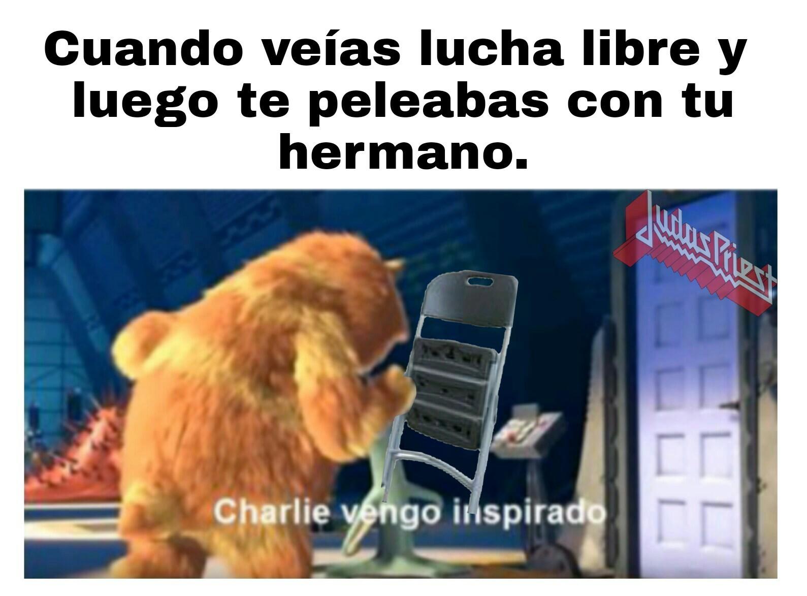 Con la silla! - meme