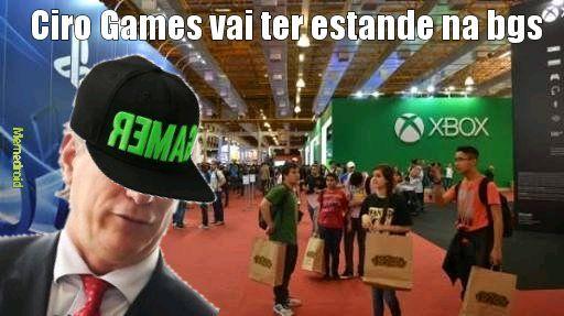 Cirilo games pra presidente - meme