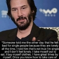 I wanna chill with Keanu