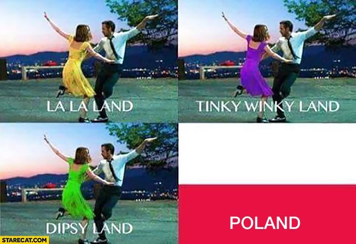 El título invadió Polonia - meme
