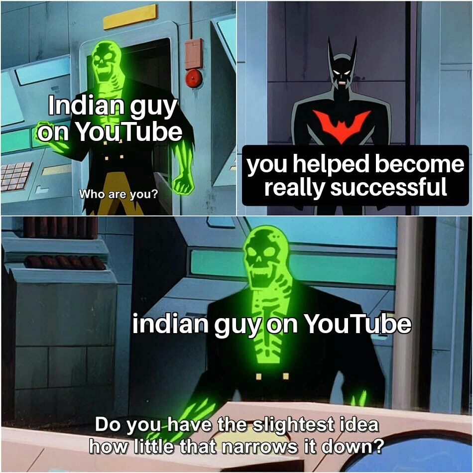 Thx indian guy - meme