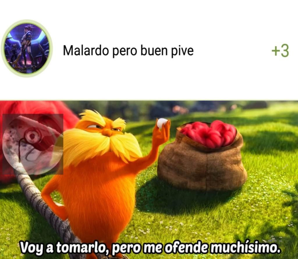 Me ofende - meme