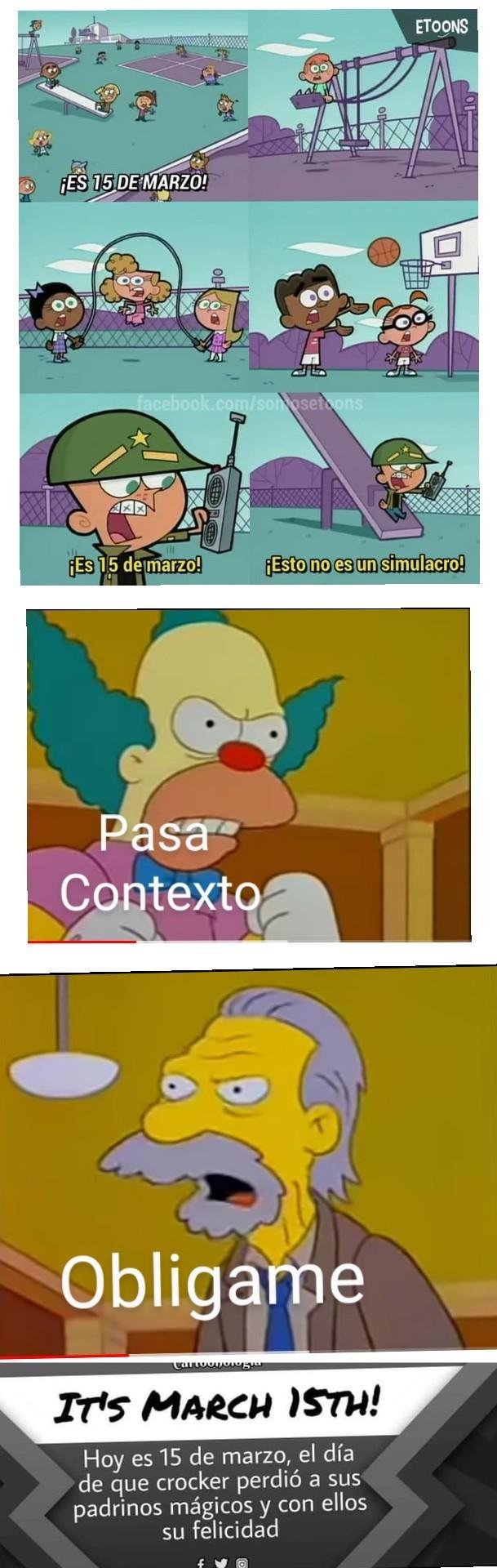 Contexto - meme