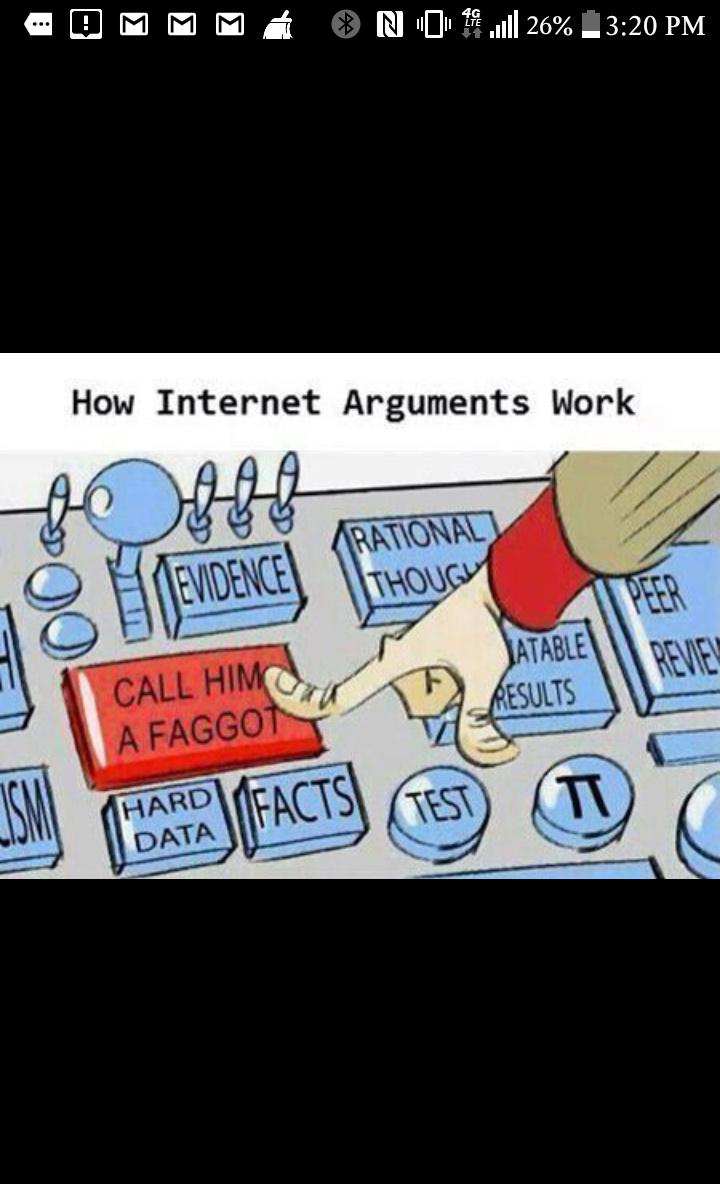 Internet debates in a nutshell - meme
