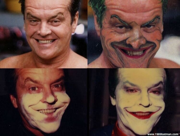 how Jack Nicholson became the joker - meme