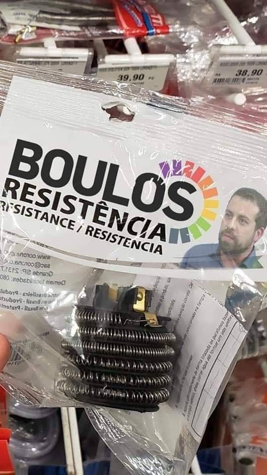Se fere minha resistência serei a insistência - meme