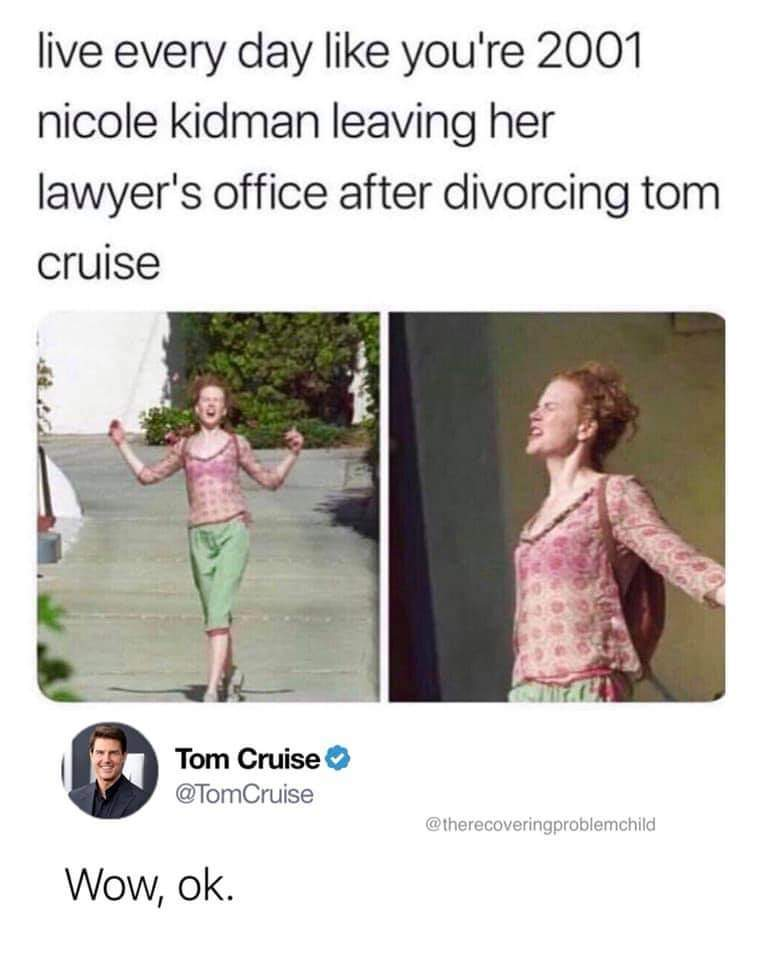 Tom Cruise gr8 - meme