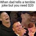 I'm broke...